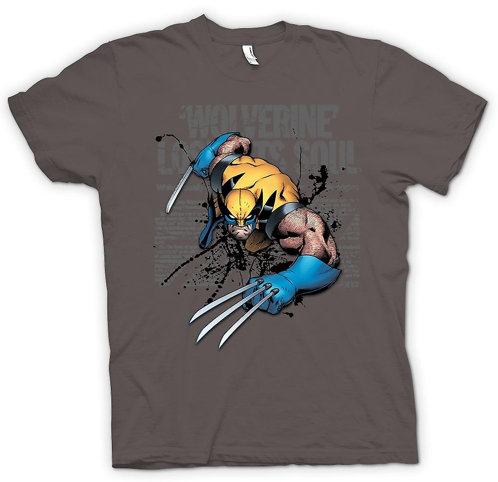 Womens T-shirt - Wolverine - Lost Soul - Comic Hero
