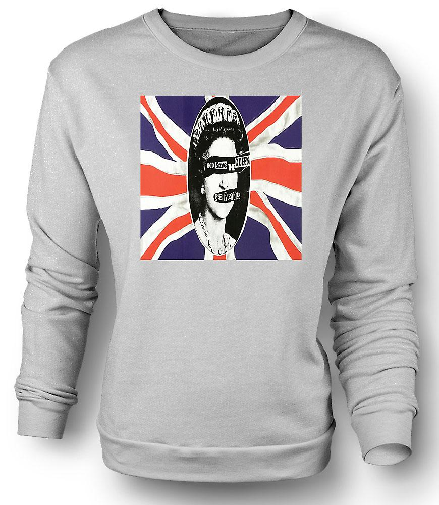 Mens Sweatshirt Save the Queen - Punk