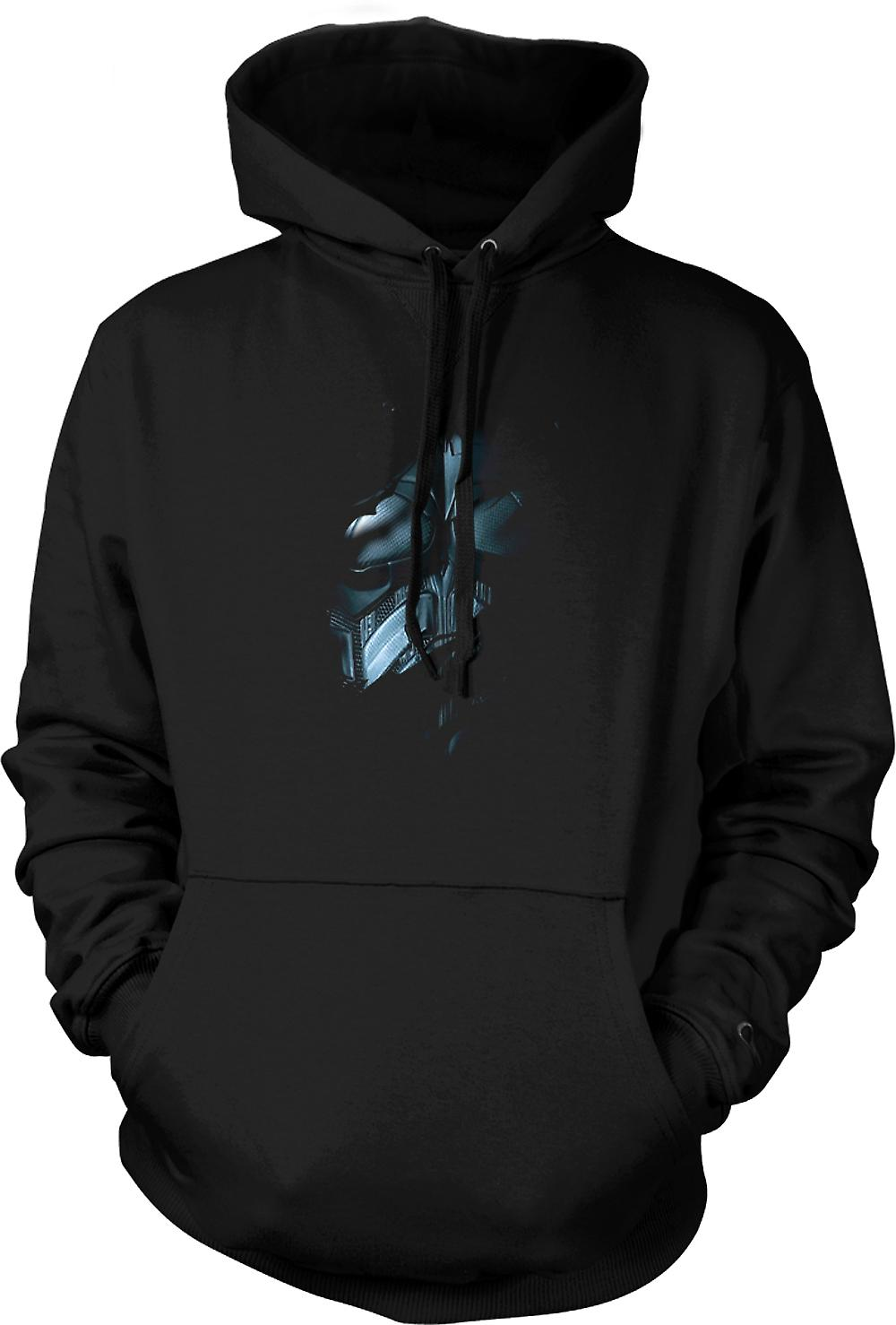 Mens Hoodie - costume de Batman - Superhero déchiré Design