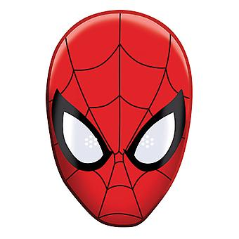 Spider-Man Party Card Face Mask (Single)