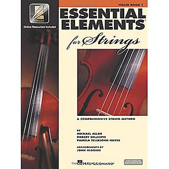Essential Elements 2000 for Strings: A Comprehensive String Method : Violin Book One