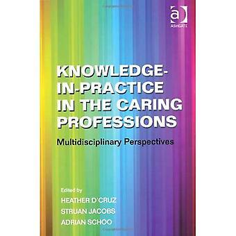 Conhecimento em prática nas profissões carinhoso
