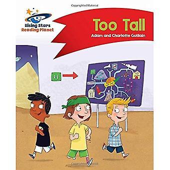 Lezing planeet - te lang - rode B: Comet Street Kids (Rising Stars planeet lezen)