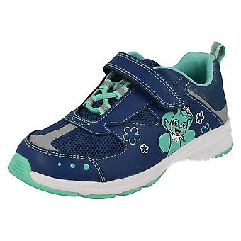 Infant/Junior Clarks Girls Trainers ReflectIce