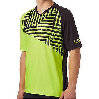 Giro Lime Distressed 2018 Roust Short Sleeved MTB Jersey
