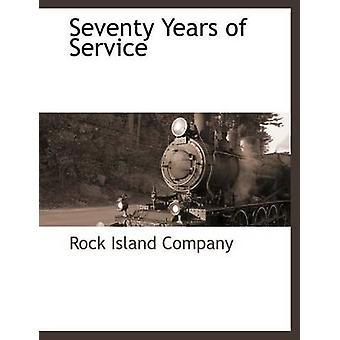 Halvfjerds år af tjenesten af firmaet & Rock Island