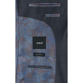 دوبل بنين بدلة البحرية سترة عادية تناسب الشق طية صدر السترة نافذة الاختيار