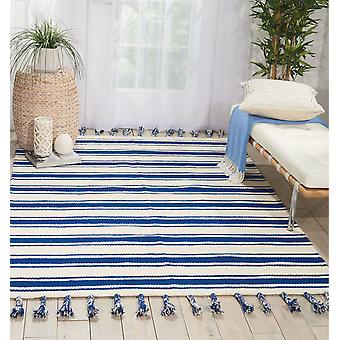 Rio Vista DST01 Ivory Navy  Rectangle Rugs Modern Rugs