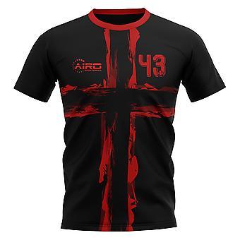 2019-2020 Flamengo Dejan Petkovic Concept maillot de foot