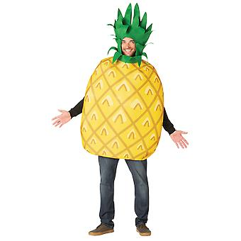 Adult Pineapple Fruit Food Funny Fancy Dress Costume