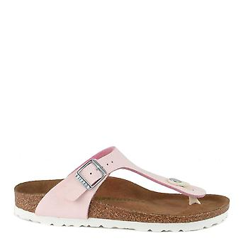 Birkenstock Gizeh Vegan Brushed Rose Thong Sandal