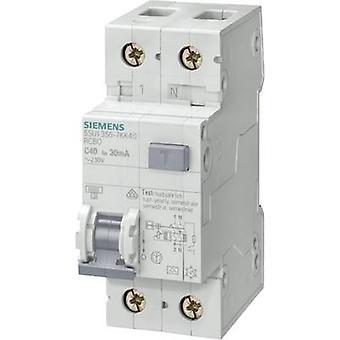 Siemens 5SU1356-7KK10 RCBO 2-pinners 10 A 0,03 A 230 V