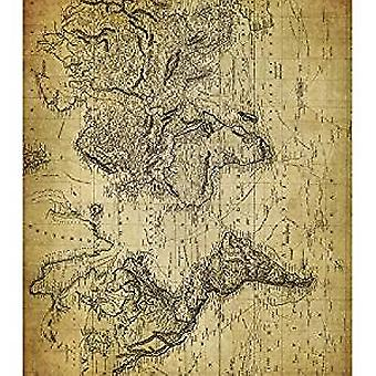 Craft Consortium World Map 2 Decoupage Papers (CCDECP157)