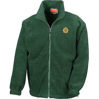 RLC Royal Logistics Corps - Chaqueta de fleece de peso pesado bordada del ejército británico con licencia