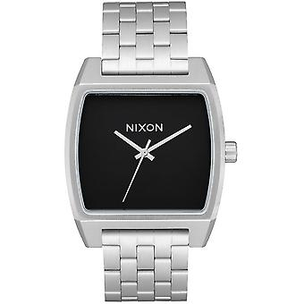 Nixon time tracker watch for Japanese Quartz Analog Woman with A1245000 Stainless Steel Bracelet
