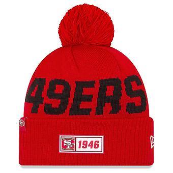 New Era Sideline Road 2019 Bommel Hat San Francisco 49ers