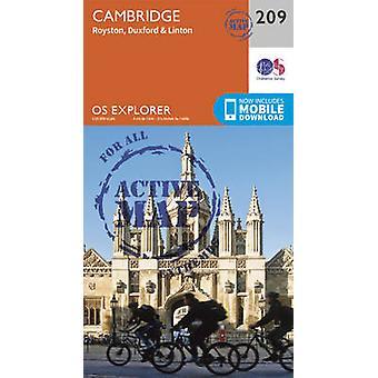 Cambridge - Royston - Duxford & Linton (September 2015 ed) by Ordnanc