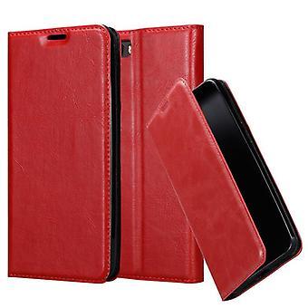 Cadorabo tilfældet for ZTE Nubia m2 sag Cover-telefon tilfældet med magnetisk lukning, stativ funktion og kort case rum – sag Cover sag sag case sag bog folde stil