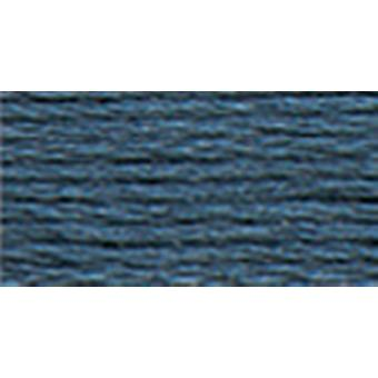 Dmc Tapestry & Embroidery Wool 8.8 Yards Dark Drab Country Blue 486 7591