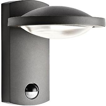 LED outdoor wall light (+ motion detector) 3 W Warm white Philips 17239/93/16 Anthracite