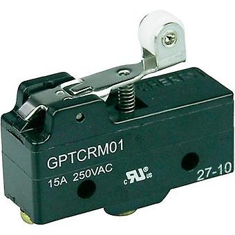Microswitch 250 Vac 15 A 1 x On/(On) Cherry Switches GPTCRM01 momentary 1 pc(s)