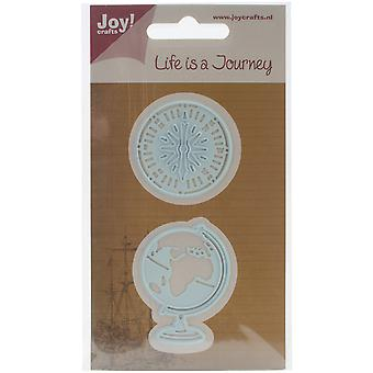 Joy! Crafts Cut & Emboss Die-Globe & Compass JC20504