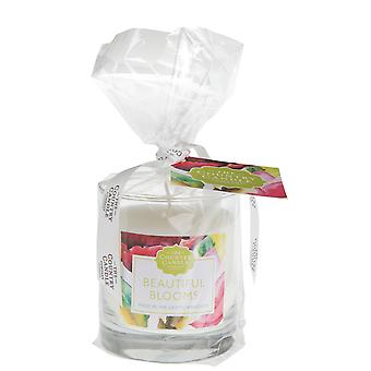 Chelsea Collection Candle in A Tumbler  - Beautiful Blooms