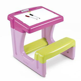 Smoby Little Student Desk Rosa (Kids , Toys , Education , Boards And Accessories)
