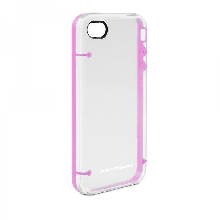 Marware DuoShell case cover for iPhone 4 - pink