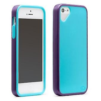 OLO Sling cover iPhone 5 / 5S blue purple