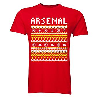 Arsenal Christmas T-Shirt (Red) - Kids