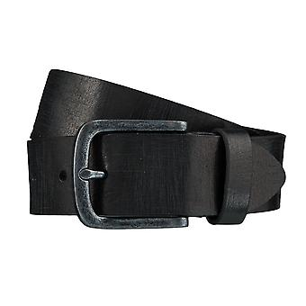 BERND GÖTZ belts men's belts leather belt black 4091
