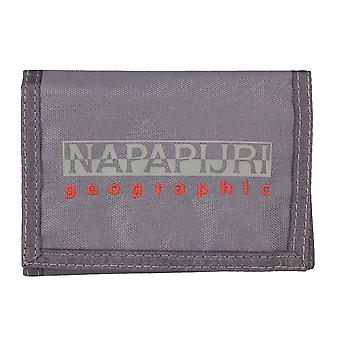 Napapijri purse wallet purse gray 4576