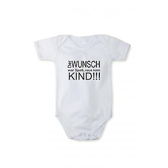 T-shirt with print baby body child in different languages