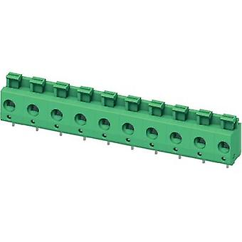 Spring-loaded terminal 2.50 mm² Number of pins 4 PTS 1,5/ 4-7,5-H Phoenix Contact Green 1 pc(s)