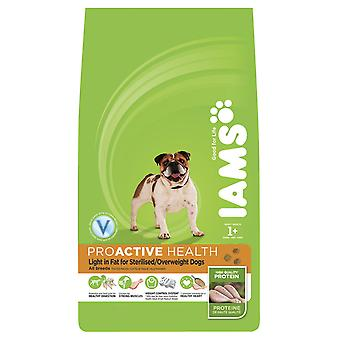 Iams Dog Adult Light In Fat Chicken 12kg