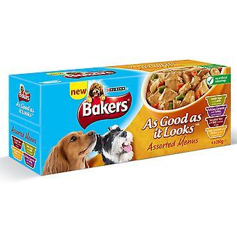 Bakers Agail Assorted Menu 4x280g (Pack of 4)