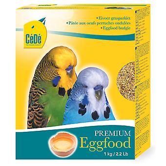 Afstå Budgie Premium æg mad 1kg