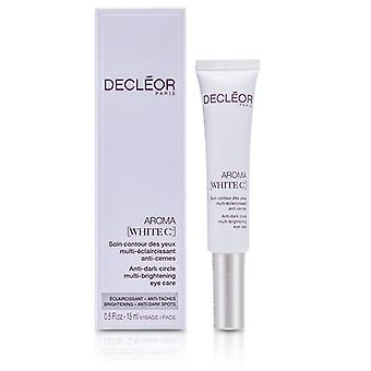 DECLEOR Aroma Multi-éclaircissement du cercle blanc C + anti-Dark Eye Care 15 ml / 0,5 oz