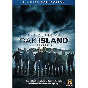 Curse of Oak Island [DVD] USA import