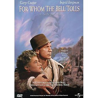 For Whom the Bell Tolls [DVD] USA import