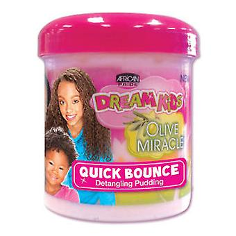 African Pride Dreams Kids Olive Miracle Quick Bouncle 425 Gr (Children , Hair , Shampoo)