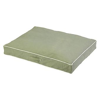 Dog Gone Smart Rectangle Bed Eco Green 66x86x10cm