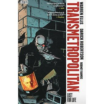 Transmetropolitan Vol :2 Lust For Life (Paperback) by Robertson Darick Ellis Warren