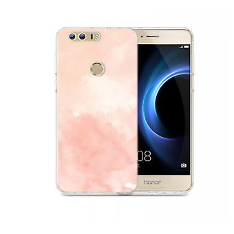 Aquarel cover voor Huawei Honor 8