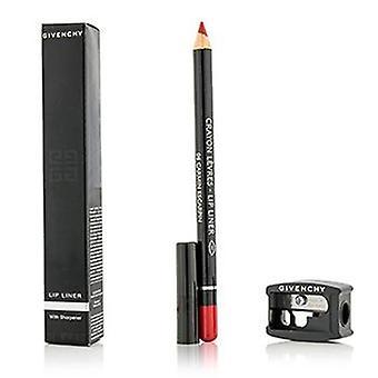 Givenchy Lip Liner (With Sharpener) - # 06 Carmin Escarpin - 1.1g/0.03oz