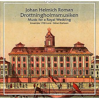 J.H. Roman - Johann Helmich Roman: Drottningholmsmusiken [CD] USA import