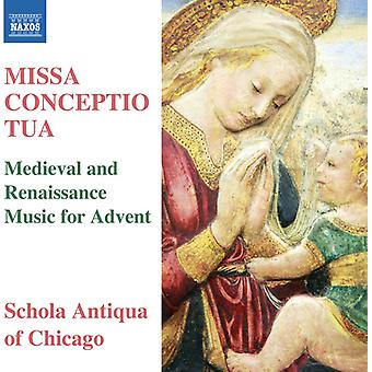 La Rue / Anderson / Schola Antiqua of Chicago - Missa Conceptio Tua [CD] USA import