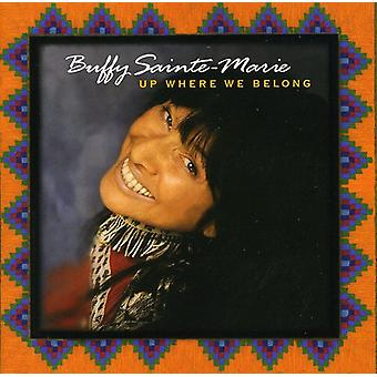 Buffy Sainte-Marie - op hvor vi hører [CD] USA import