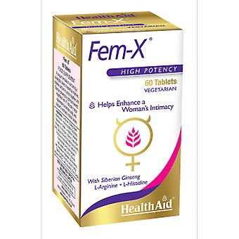 Health Aid Fem-X 60COMP. (Hygiene and health , Sexual health , Suplements)